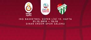 Maça doğru | Galatasaray Doğa Sigorta - Frutti Extra Bursaspor