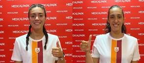 Melis Gülcan ve Gizem Başaran sağlık kontrollerinden geçti