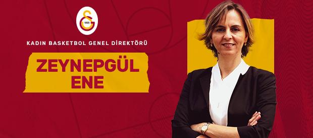 Kadın Basketbol Şubemizde Genel Direktörlük görevine Zeynepgül Onay Ene getirildi