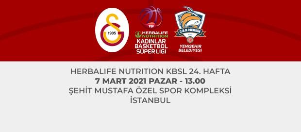 Maça Doğru | Galatasaray - ÇBK Mersin Yenişehir Bld.