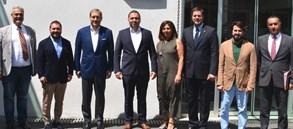 Başkan Burak Elmas'tan Metro İstanbul'a ziyaret