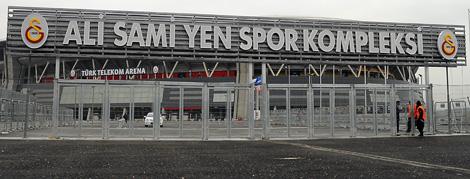 """""""Ali Sami Yen Spor Kompleksi"""" Tabelası Takıldı"""