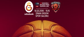 Maça doğru   Galatasaray Odeabank – Eskişehir Basket