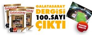 Galatasaray Dergisi 100. Sayısı Bayilerde