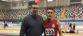 Serhat Bulut'tan U18 heptatlon Türkiye rekoru
