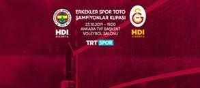 Maça doğru | Fenerbahçe HDI Sigorta - Galatasaray HDI Sigorta