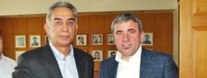 Başkan Adnan Polat ve Gheorghe Hagi Açıklamalarda Bulundu