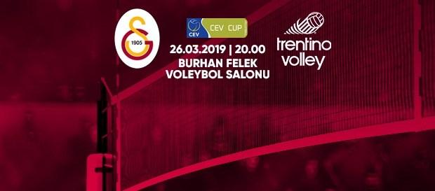 Maça doğru | Galatasaray - Trentino Itas