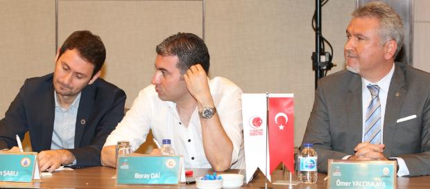 Tahincioğlu Basketbol Süper Ligi lig kurulu toplantısı düzenlendi