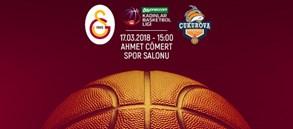 Maça doğru   Galatasaray – Çukurova Basketbol