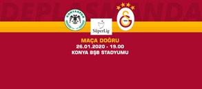 Maça doğru | Konyaspor - Galatasaray