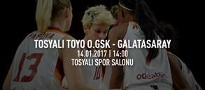 Maça doğru | Tosyalı Toyo Osmaniye GSK – Galatasaray