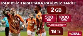 GSMobile RAKİPSİZ 500 TARİFESİ