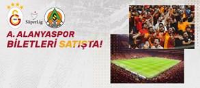 Aytemiz Alanyaspor maçının biletleri satışa çıktı