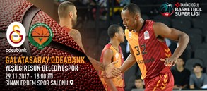 Maça doğru | Galatasaray Odeabank – Yeşilgiresun Belediyespor