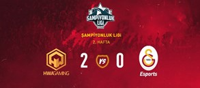 HWA Gaming 2-0 Galatasaray Esports