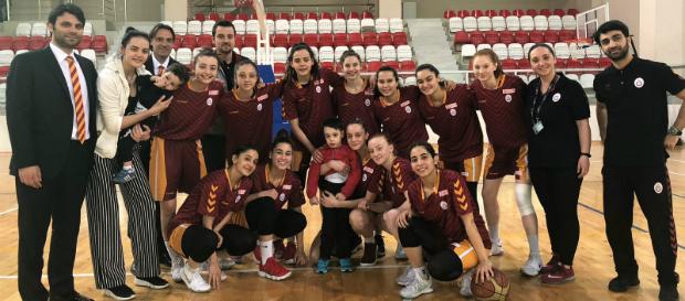 Galatasaray Gelişim KBBL 6'lı finallerde mücadele edecek