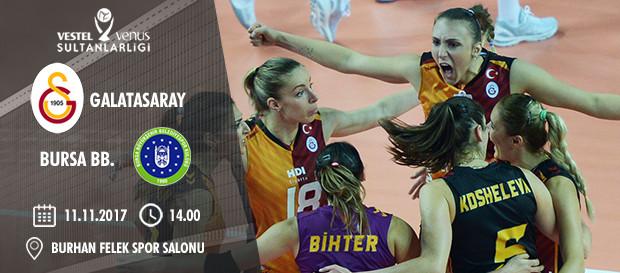 Maça doğru | Galatasaray - Bursa BB