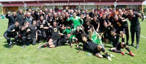 U19 Ligi'nde Şampiyon Galatasaray