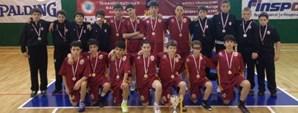 İstanbul Gelişim Ligi U12 Seri A'da Şampiyon Galatasaray!