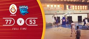 Galatasaray Odeabank 77-53 Sharks d'Antibes