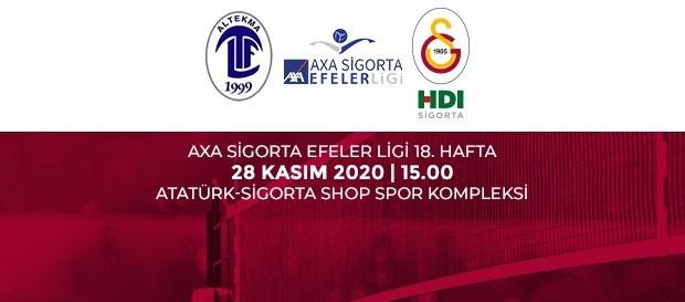 Maça Doğru | Altekma - Galatasaray HDI Sigorta