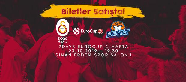Buducnost VOLI Podgorica maçı biletleri satışta