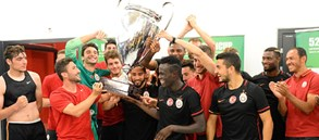 Uhrencup'ta Şampiyon Galatasaray!