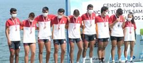 Cengiz Tunçbilek Gençler Türkiye Şampiyonası Kürek Yarışları tamamlandı
