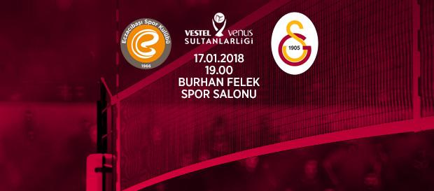 Maça doğru | Eczacıbaşı Vitra - Galatasaray