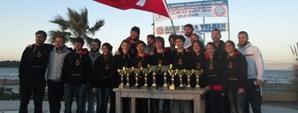 Yarıyıl Kupası 420-470 ve Rüzgar Sörfü Yarışları Yapıldı