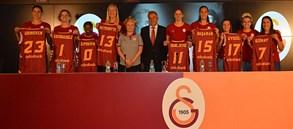 Galatasaray Kadın Basketbol Takımı Lansmanı yapıldı