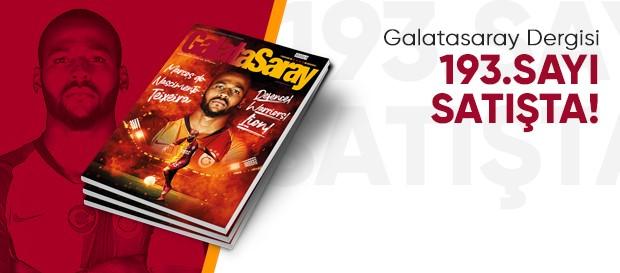 Galatasaray Dergisi'nin 193. sayısı GS Store'larda satışta