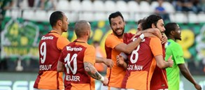 Golcüler: Galatasaray 11 - 4 Fenerbahçe