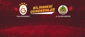Opta Facts | Galatasaray - Aytemiz Alanyaspor