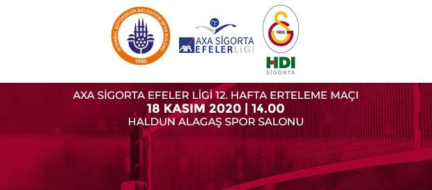 Maça Doğru | İstanbul BBSK - Galatasaray HDI Sigorta