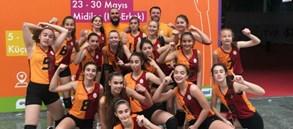 Midiler Türkiye Şampiyonası'nda şampiyon Galatasaray