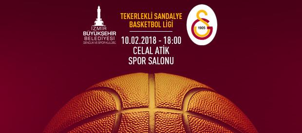 Maça doğru   İzmir BBSK – Galatasaray