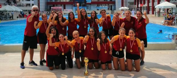 U15 Bayan Sutopu Takımımız Federasyon Kupası Şampiyonu