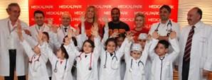 Sporcularımız Medical Park'ta 23 Nisan Etkinliğine Katıldı