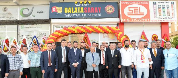 Gaziantep Galatasaray Taraftarlar Derneği açılışı yapıldı