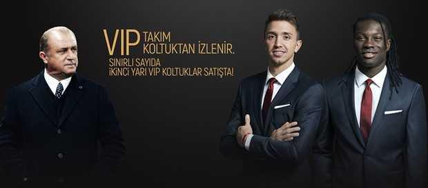 Şampiyonluğu VIP koltuktan izleyin!