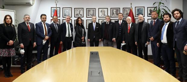 Başkanımız Mustafa Cengiz, 1905 Kültür Sanat Derneği'ni kabul etti