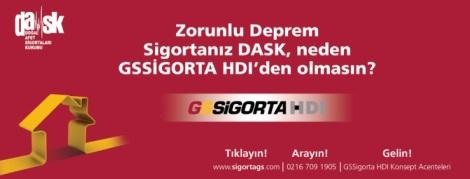 Zorunlu Deprem Sigortanız Dask Neden GSSigorta HDI'dan Olmasın!