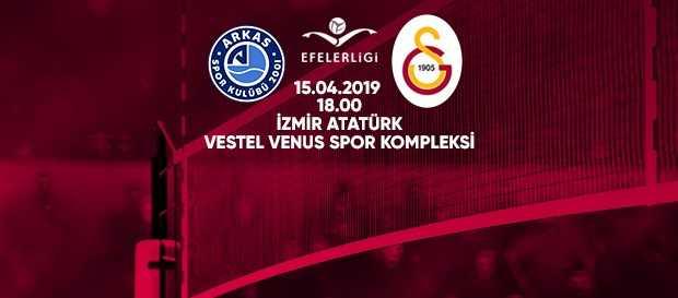 Maça doğru | Arkas Spor - Galatasaray