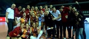 Galatasaray CEV Cup Çeyrek Finalleri'nde