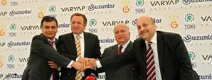 Türk Telekom Arena İnşaatı Başladı