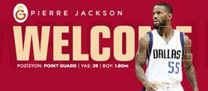 Pierre Jackson Galatasaray'da!