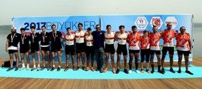 Büyükler Türkiye Kürek Şampiyonası başladı