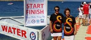 İzmir Açık Su Yüzme Yarışları'nda 2 Madalya
